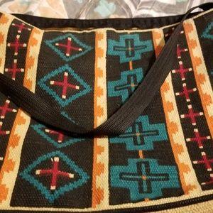 Aztec Print Tote